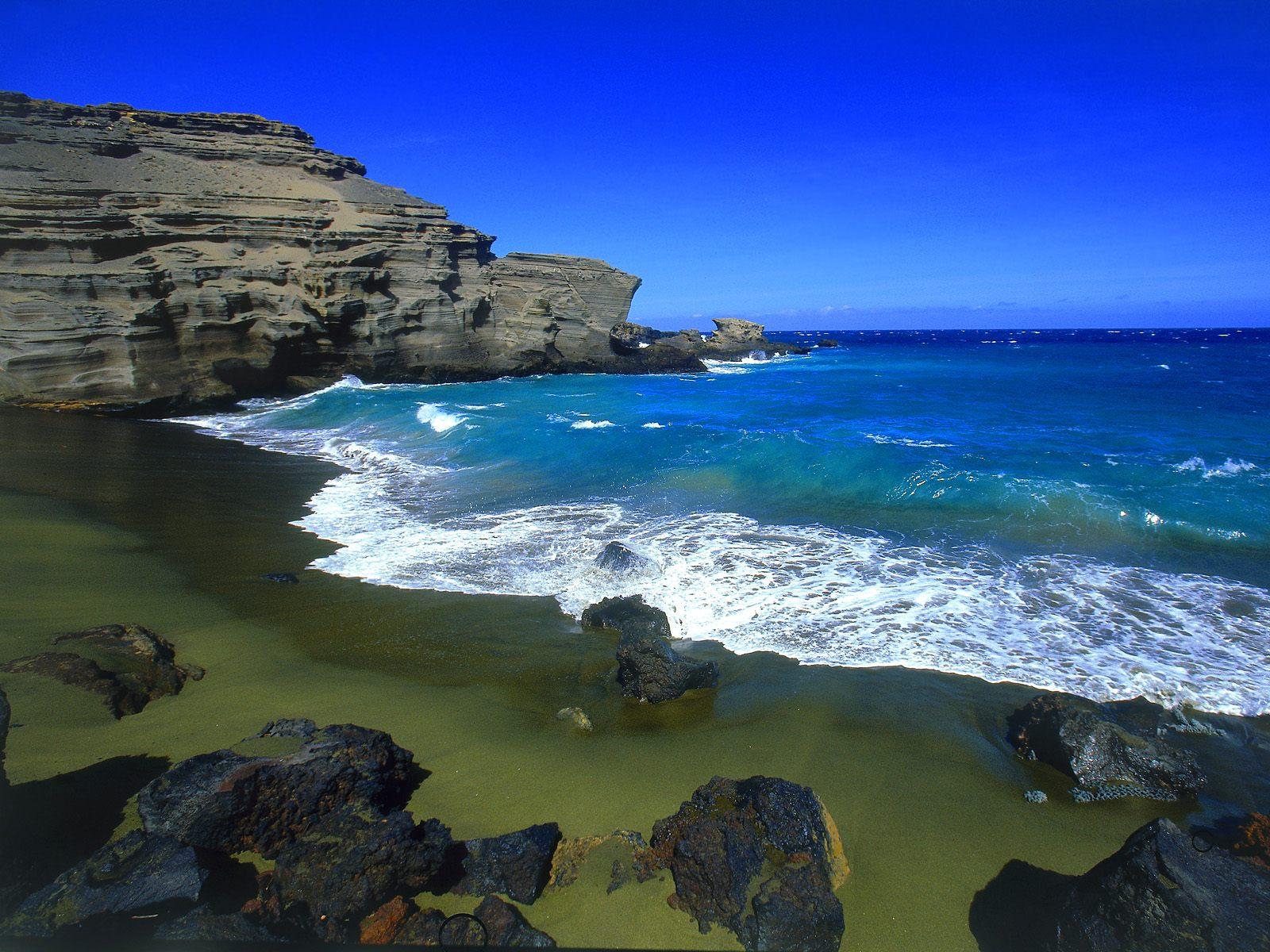 Цветные пляжи мира фото